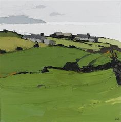 Landscape Paintings and photographs : Landschaftsbilder und Fotografien: Sir Kyffin Williams Paintings Abstract Landscape Painting, Landscape Art, Landscape Paintings, Abstract Art, Landscape Fountains, Green Landscape, Watercolor Landscape, Abstract Paintings, Paintings I Love