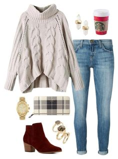 Christmas Shopping by justkenzie on Polyvore featuring polyvore, fashion, style, Current/Elliott, ALDO, Kate Spade, Kendra Scott and Michael Kors