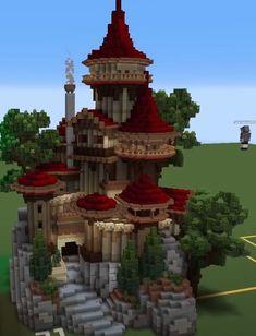Minecraft Building Blueprints, Minecraft House Plans, Minecraft Cottage, Cute Minecraft Houses, Minecraft Castle, Amazing Minecraft, Minecraft House Designs, Minecraft Creations, Minecraft Crafts
