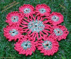 Crochet inspiration for a rug