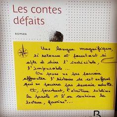 Les contes défaits de Oscar Lalo @editionsbelfond  Coup de coeur d'Alexandre librairie Port Maria à Quiberon  #lespetitsmotsdeslibraires #rentreelitteraire2016 #book #livre