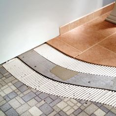 Tile your old bathroom floor, without tearing it up!