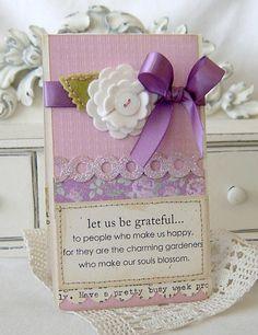 Let us Be Grateful card