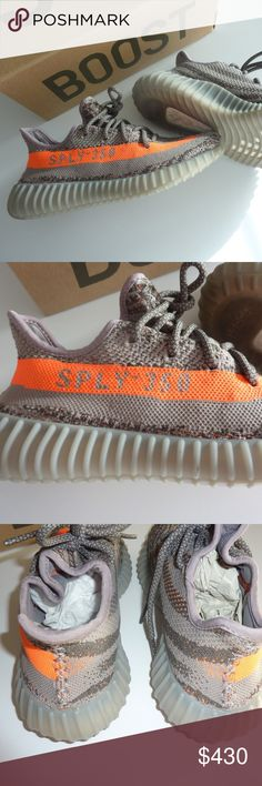 YEEZY 350 V2 Beluga NEW 100% Auth in hand FEW pair Adidas Yeezy Boost 350 V2 Beluga GREY/BORANG/DGSOGR New arrival, bought in Germany  100% Authentic I DONT deal with fakes or B-Grades Condition: New With Box SHIPPING NOW, IN HAND Only few pairs !!! This is a limited edition, LOW STOCK not all sizes are available. Please write your European size Yeezy Shoes Sneakers