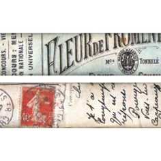 TH92912 Paper Journeyman Tissue Tape by Tim Holtz Idea-ology Multicolored 2 Rolls 3//4 Inches x 16 Yards
