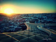 Atardecer en Sevilla / Sunset over Sevilla, by @PhotoInspira