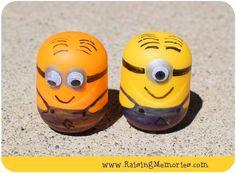Raising Memories: Minion Kinder Eggs & a Giveaway!