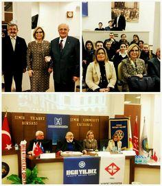 İZSEV &Konak Rotary Kulübü, İzmir İktisat Kongresi anma etkinliği, izmir i
