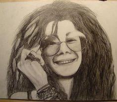 Janis Joplin sketch