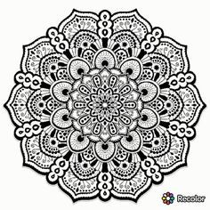 ➖➖➖➖ #pecolor #coloring #mandala #mandalas #patterns #whitecolor #blackcolor #wonderful #beautiful #раскраска #мандала #мандалару #узоры #чёрная #белая #чёрныйцвет #белыйцвет #сама #нарисовала
