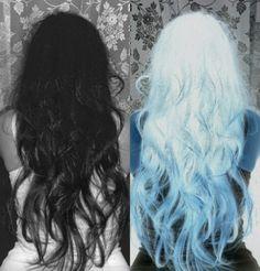 Ciemne Jasne Włosy
