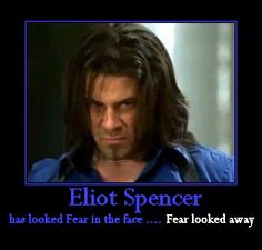 Eliot Spencer and Fear - another creation of mine