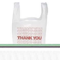T-Shirt Thank You Bag, 11.5 X 6.5 X 22, 12.5 Micron, White, 900/Case