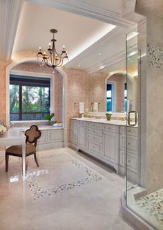 Master Bath Remodel - Traditional - Bathroom - miami - by Little Palm Design Group