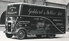 Seddon Luton Van Old Lorries, Heavy Machinery, Mystery Of History, Commercial Vehicle, Diesel Engine, Classic Trucks, Old Trucks, Back In The Day, Cars And Motorcycles
