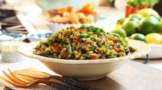 Photo of Siba's Braaied Corn Salad with Basil Pesto Dressing