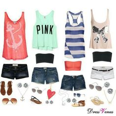 Summer of Style outfit ideas #97-100!