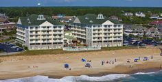 Parents Magazine ranks Kitty Hawk, North Carolina as the #7 beach vacation for families. All rooms at the Hilton Garden Inn Outer Banks/Kitty Hawk have a balcony and ocean views.  The resort supplies free beach chairs and umbrellas.