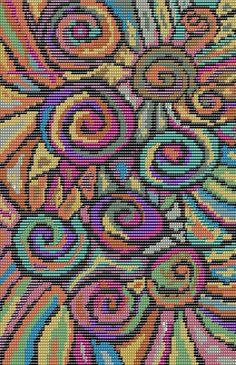 Free Loom Bead Patterns | Word From Claudia: Next Mirrix Free Bead Pattern