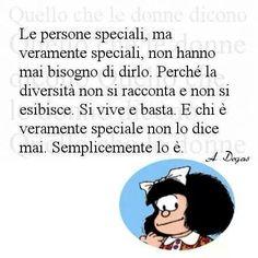Diversità = essere speciale