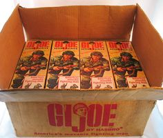 The G.I Joe Action Soldier (7500) was the flagship figure of the line, and was first released in 1964. He remained in production through the end of the military series in 1968.
