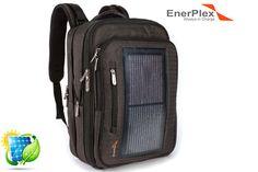 EnerPlex Packr Executive Solar Powered Backpack w/ 3-Watt Panel
