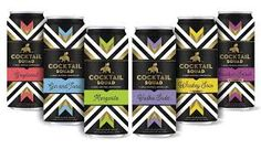 Canned cocktail company Cocktail Squad added two new delicious flavors, Whiskey Sour and Bourbon Smash, to their lineup. Limoncello Cocktails, Homemade Limoncello, Bourbon Smash, Best Bourbons, Best Rooftop Bars, Whiskey Sour, Daiquiri, New Flavour