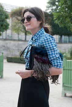 Неделя моды в Париже S/S 2015: street style. Часть VI, Buro 24/7