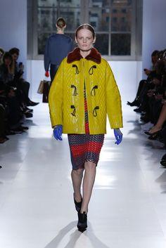 Latex and Knitting mixed together at Paris Fashion Week 2014