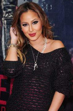 Luxurious glitter and glamour Adrienne Bailon The Cheetah Girls, Adrienne Bailon, Glamour Magazine, Hair Color And Cut, Perfect Woman, Couture, Spring Summer Fashion, Passion For Fashion, Cute Outfits