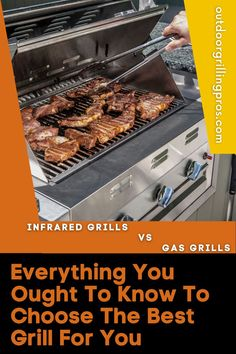 Ready to buy a grill but having uncertainties if you should go for an infrared or gas grill? We understand the dilemma. So, we've created a guide with everything you need to know about the difference between infrared and gas grills. Curious? Infrared Grills, Grilling, Good Things, Outdoor Cooking, Tasty, Make It Yourself, Recipes, Crickets, Outdoor Kitchens