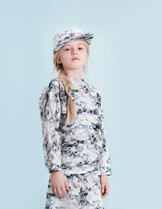 Monochrome graphics at Little Man Happy for fall 2015 kidswear