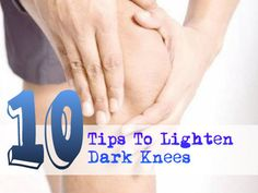 If you are embarrassed about wearing skirts, dresses, or shorts because your knees are darker than the rest of your legs, then there's good news for you. It is possible to lighten dark knees by several methods. However, patience and persistence is essen