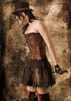 Steampunk and Dieselpunk fashion and things Chat Steampunk, Mode Steampunk, Style Steampunk, Steampunk Couture, Steampunk Dress, Steampunk Cosplay, Victorian Steampunk, Steampunk Clothing, Steampunk Images