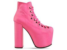 crazy pink shoes by UNIF for solestruck.com