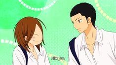 Ryu and Chizu | Kimi ni Todoke