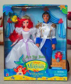 The Little Mermaid Wedding Set, 1997