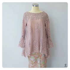 ⛔️SOLD OUT⛔️ Bust Length Elastic Sleeve 45 to with Lining --- For more details and price please contact us :) WA :… Kebaya Muslim, Kebaya Modern Hijab, Kebaya Hijab, Muslim Dress, Model Kebaya Modern Muslim, Model Kebaya Brokat Modern, Kebaya Lace, Batik Kebaya, Kebaya Dress