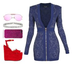 This Might Work by pstm on Polyvore featuring polyvore, fashion, style, Balmain, Gucci, Yves Saint Laurent and clothing