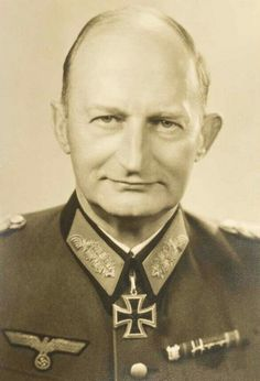 Generalleutnant Max Fremerey (05 May 1889 - 20 September 1968).