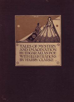 Harry Clarke, Poe decorations - 50 Watts
