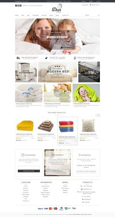 Create a simple, modern and bright webshop by IdeaHamster'99