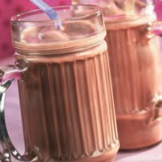 Chocolate, cinnamon, and sugar milkshake, :) yummy!
