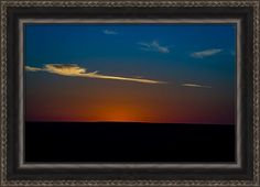 Sunset Print featuring the photograph Gone But Not Forgotten by Jeff Phillippi