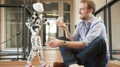 I would LOVE to have one of these! With virtually no commercially-available biologically-inspired humanoid robot kits to choose from, a team from France has opted to design and fabricate its own robot using a 3D printer and consumer electronics. The result is an open source and surprisingly cheaper alternative.