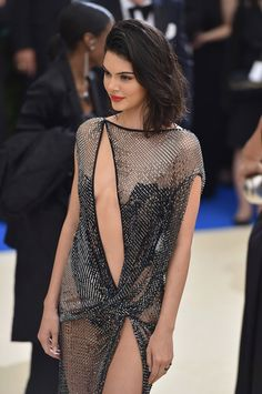 KENDALL JENNER AT THE MET GALA 2017