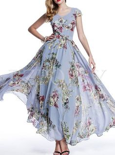 Shop for high quality Floral Print Long Bohemian Maxi Dress online at cheap prices and discover fashion at Ezpopsy.com