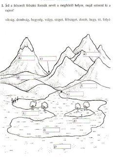 Játékos tanulás és kreativitás: Felszíni formák gyakorlása 3.