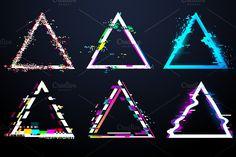 Glitch Alphabet and Effects vectors by Tartila on Glitch Art, Glitch Effect, Graphic Design Typography, Logo Design, Banner Design Inspiration, Animation Storyboard, Overlays Picsart, Pochette Album, Motion Design