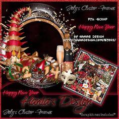 Happy New Year-cluster-03 [HaniaDesign] - $0.50 : Hanias Design Happy New Year, Merry, Christmas, Design, Xmas, Happy New Years Eve, Weihnachten, Navidad, Yule